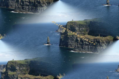 Ireland, co. Clair Cliffs of Moher